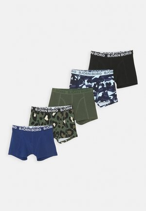 CAMO FLORAL & SAMMY 5 PACK - Boxerky - peacoat