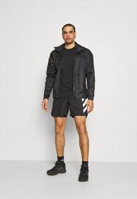 adidas Performance - AGRAVIC SHORT 2-IN-1  - Sports shorts - black/white - 1