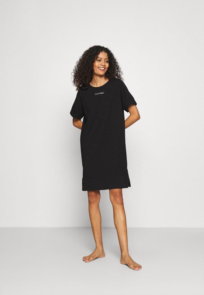 Calvin Klein Underwear - NIGHTSHIRT - Nightie - black