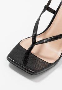 Steve Madden - BASHMENT - High heeled sandals - black - 2