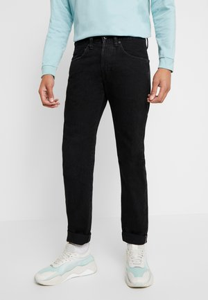 Straight leg jeans - ragny wash kaguya selvage black denim