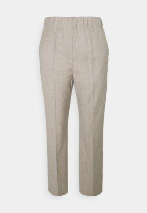 EGIZIO - Kalhoty - beige