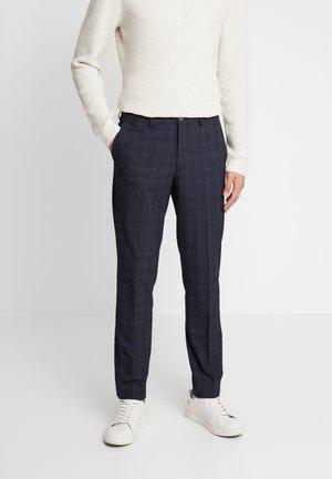 SLHSLIM KENT PANTS - Kalhoty - dark blue
