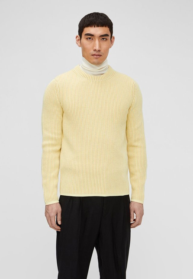 REMUS STRUCTURED  - Jumper - royal yellow