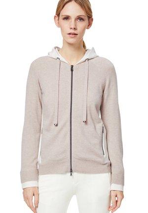 AGNES - Zip-up hoodie - sand