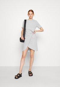 Ética - VERONICA - Jersey dress - heather grey - 1