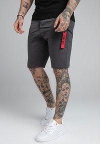 SIKSILK - PANEL FLIGHT - Shorts - grey - 0