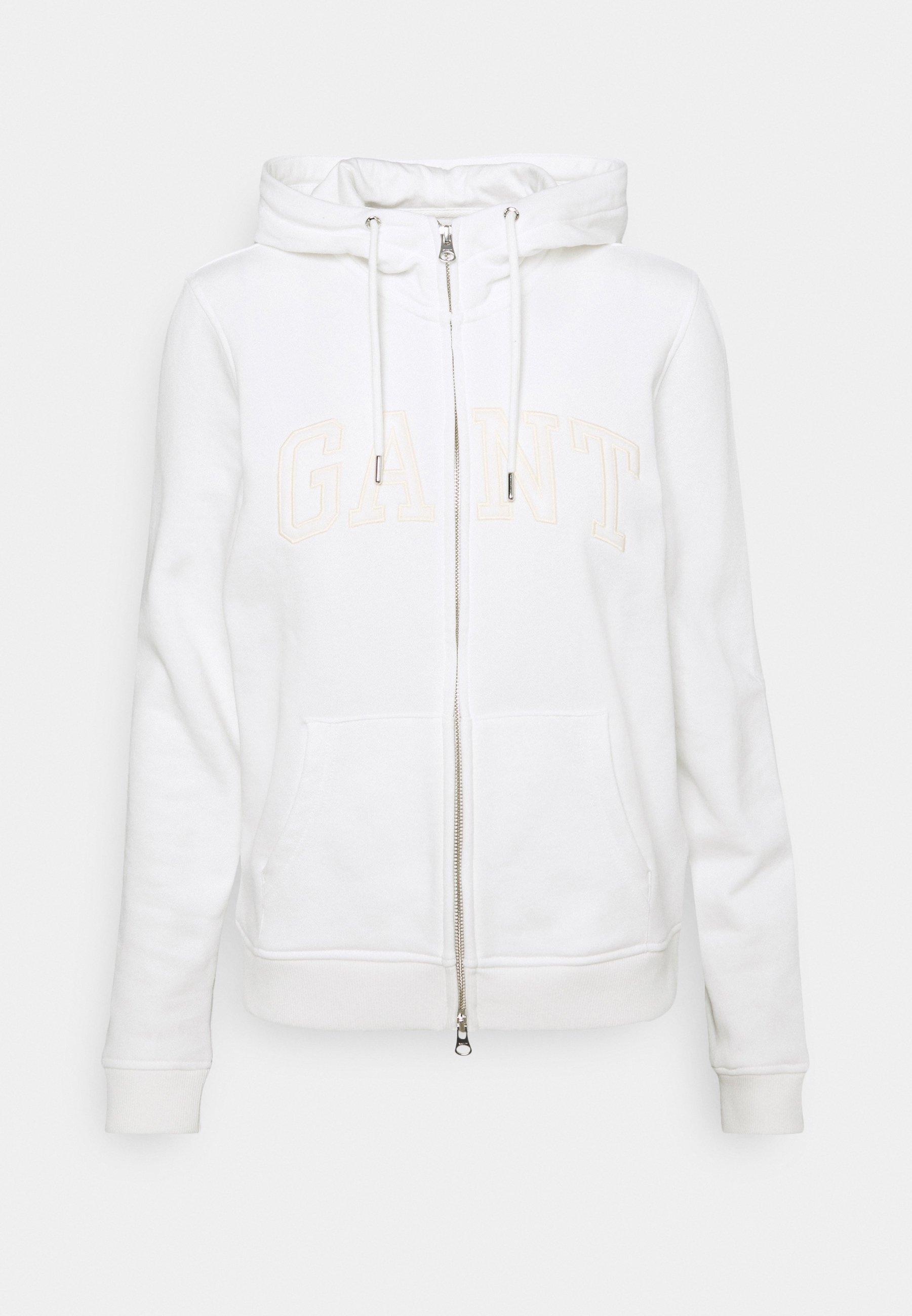 Women ARCH LOGO ZIP HOODIE - Zip-up sweatshirt