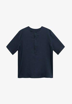 LOU - Shirt - mørk marineblå