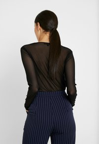 Missguided Tall - T-shirt à manches longues - black - 2