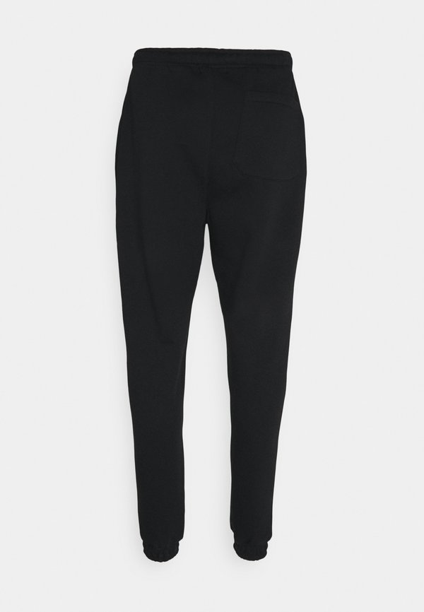 Urban Threads JOGGER WITH POP COLOUR DRAWCORD UNISEX - Spodnie treningowe - black/czarny Odzież Męska FAGQ