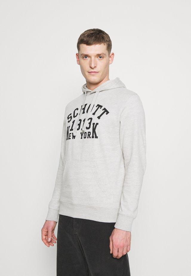 Hoodie - heat grey