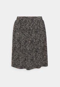 ONLY - ONLTAMMIE SHORT PLISSE SKIRT - Minijupe - black/white - 3