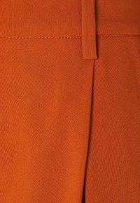Bruuns Bazaar - CINDY DAGNY PANT - Trousers - deep amber - 2
