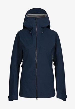 CRATER  - Hardshell jacket - marine-black