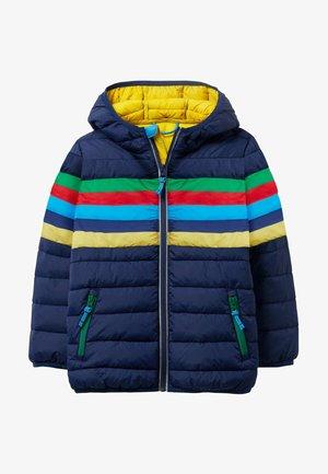 Winter jacket - schuluniform-navy, regenbogen