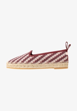 EDDHIE FLAT - Espadrilky - multicolor/red