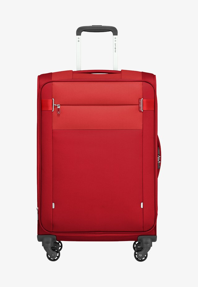 CITYBEAT - Wheeled suitcase - red