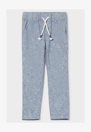 Trousers - denim-blue gray