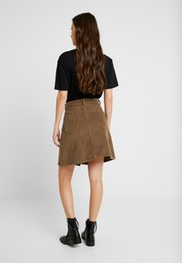 Noisy May - Mini skirt - tobacco brown - 2