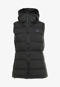 HELIONIC DOWN VEST - Waistcoat - black