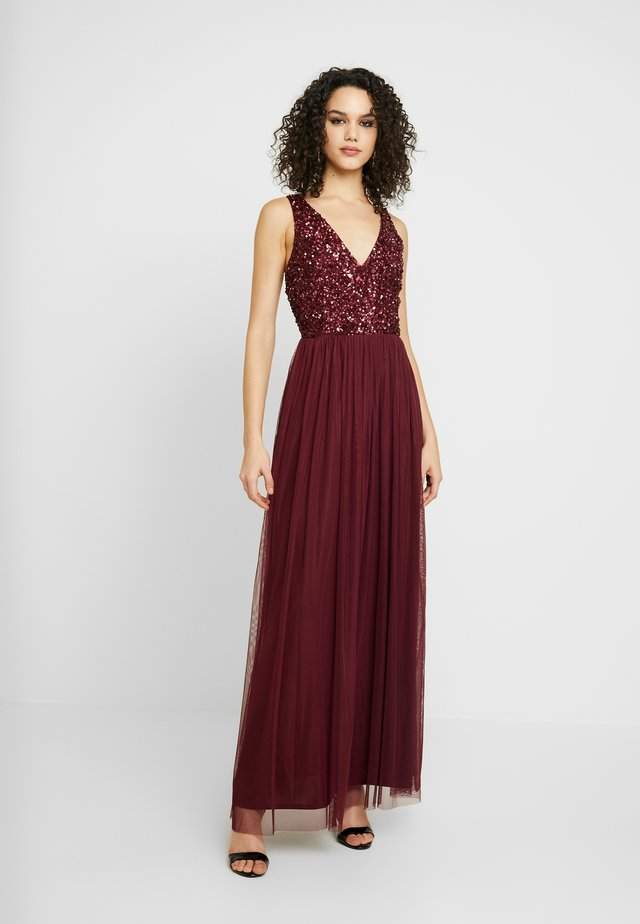 ALICE MAXI - Robe de cocktail - burgundy