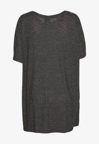 adidas Performance - WIN TEE - T-shirts med print - black - 1
