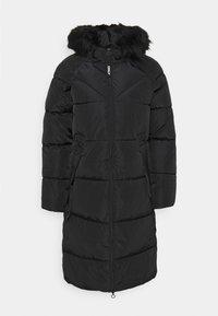 ONLY - ONLMONICA LONG PUFFER COAT  - Winter coat - black - 0