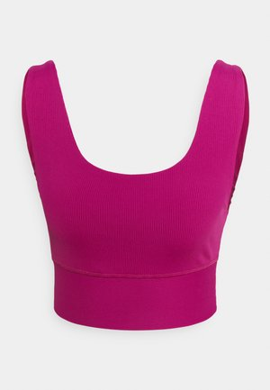 SCOOP NECK VESTLETTE - Top - boysenberry