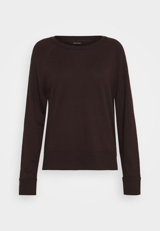 RAGLAN SLEEVE - Pullover - dark chocolate