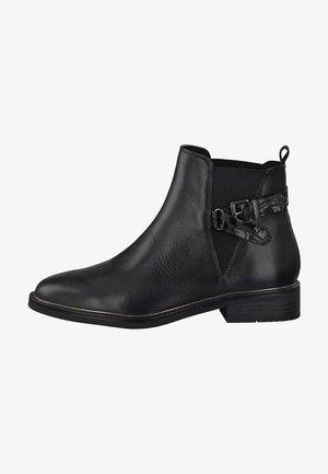 Kotníková obuv - black ant.comb 096