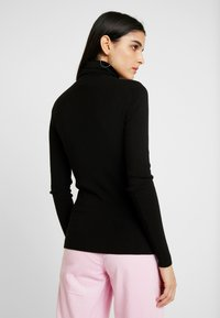 Weekday - KIRSTEN TURTLENECK - Strikkegenser - black - 2