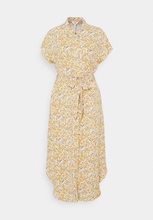 OBJMARIE DRESS - Shirt dress - honey mustard