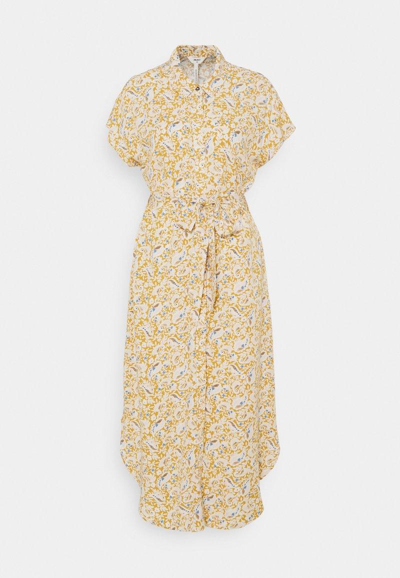 Object - OBJMARIE DRESS - Blousejurk - honey mustard
