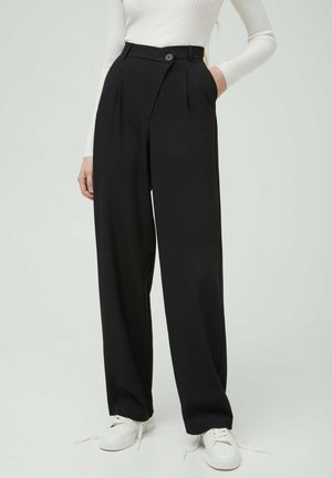 Broek - metallic black