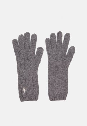 Gloves - fawn grey heather