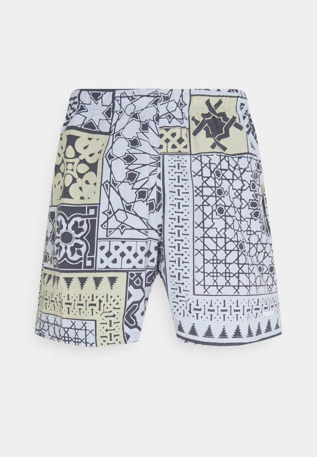 EASY PATHOS - Shorts - navy/multi