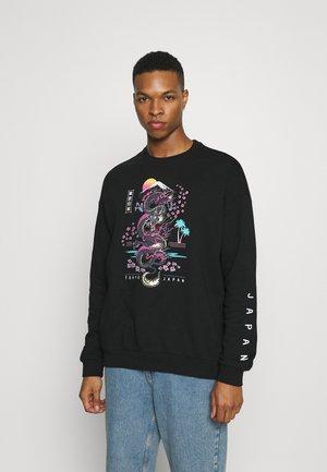 UNISEX - Oversized Sweatshirt - Sweatshirt - black