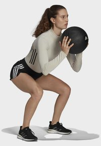 adidas Performance - Leotard - mottled beige - 1