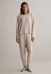 OYSHO - COMFORT FEEL  - Pyjama top - beige - 0