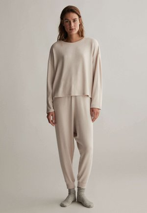 COMFORT FEEL  - Pyjama top - beige