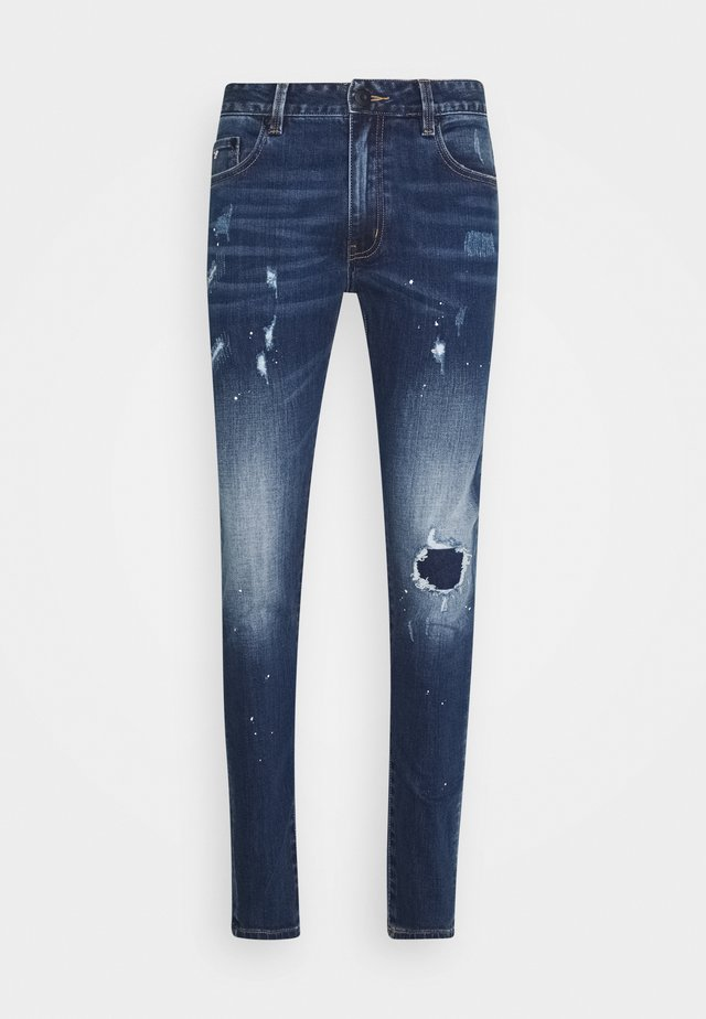 VERONA CARROT FIT  - Jeans Tapered Fit - dark blue