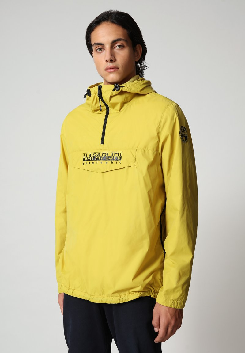 Napapijri - RAINFOREST CIRCULAR - Light jacket - yellow moss
