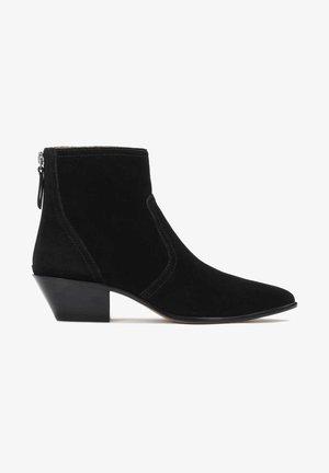 BECKY - Boots à talons - Black