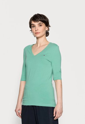 Basic T-shirt - frosted evergreen