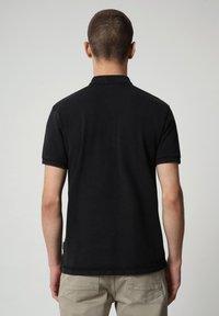 Napapijri - ELBAS - Polo shirt - black - 1
