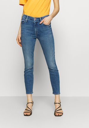 THE LOOKER CROP  - Jeans Skinny Fit - blue denim