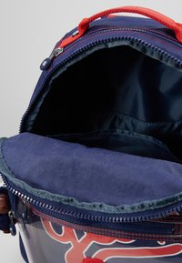 Kipling - SEOUL GO - School bag - polish blu/transparent - 5