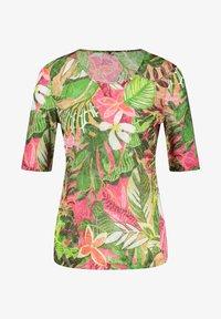 Gerry Weber Casual - Print T-shirt - violet/pink/green - 2