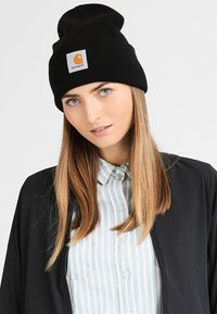 Carhartt WIP - WATCH HAT - Pipo - black - 4